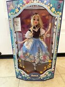 Disney - Alice In Wonderland Limited Edition Doll By Mary Blair 70th - In Hand