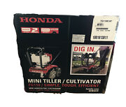 Mini Tiller-cultivator 9 In. 25 Cc 4-cycle Middle Tine Forward-rotating Gas New