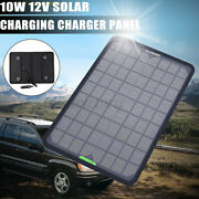 10w 5w Watt Solar Panel Kit Trickle Charger 12v Battery Charger For Rv Boat Ca