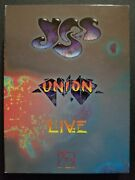 Yes Union Live Deluxe Edition W/ Booklet, Staff, Sticker 2dvd/2cd Box Set 2011