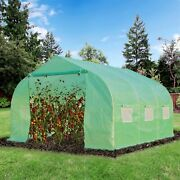 Greenhouse 12and039x10and039x7and039 Large Portable Walk-in Hot Green House Plant Gardening