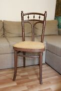 Vintage Chair Thonet Antique With Stamp