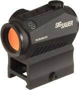 Sig Sauer Sor50001 Romeo5 1x20mm Compact 2 Moa Red Dot Sight High Mount Only