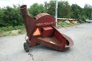 Sperry New Holland 27 Pto Straw Blower Attachment On Wheels