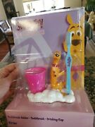 Scooby Doo Toothbrush Toothbrush Holder And Cup New Kid Care Free Ship 2005