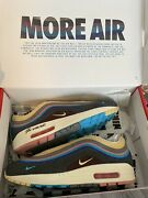 More Airrrr Rare Signed Nike Air Max 97 Sean Wotherspoon 2018 Size 10