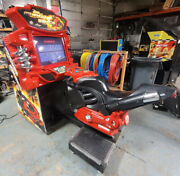 Fast And Furious Super Bikes Motorcycle Arcade Driving Video Game Machine