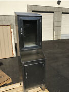 Vintage Shampaine Stainless Steel Medical Cabinet 20 W X 70 Tall X 18.5 Deep