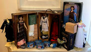 Huge Titanic Lot Franklin Mint Rose Doll Outfits Trunk Music Boxes And More