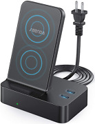 Seenda Wireless Charger With 2 Usb Ports - 3 In 1 Multi-device Wireless Charging