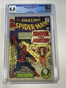 Amazing Spider-man 15 Cgc 4.0 1st Appearance App Of Kraven Hunter Sinister Six
