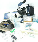 Swift Sw200dl Compound Microscope + Dissecting Kits + Experimental Set | Over