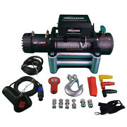 13500 Lb Capacity Steel Cable Car Electric Winch 12 Volt Dc Powered