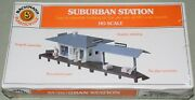 Vintage Bachman Plasticville 2673 Suburban Station For All Ho Scale New