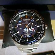Seiko Astron Sbxb133 Limited Edition Honda Jet Gps Solar Mens Watch Auth Works