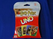 Vintage 2002 Harry Potter Uno Card Game New Sealed - Q6