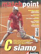 Italy - 2004 Andreas Seppi - Matchpoint Tennis Magazine - Cover