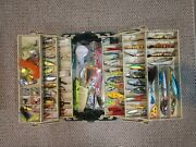 Plano Tackle Box 8606 Full Of Lures Fishing Gear Tons Of Compartments Full Box