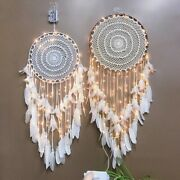 Handmade Dream Catcher Feathers Beads Car Home Wall Hanging Decor Ornament Gift
