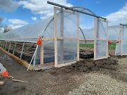 12x20 Greenhouse Kit New Kit W/ Endwalls And Door Free Shipping