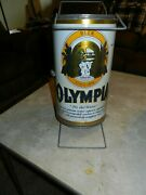 Vintage Olympia Beer Beer Can Portable Metal Bbq Grill B.i.g. Can Do Rare