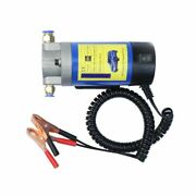 Electric Oil Transfer Extractor Pump Portable 12v 100w Fluid Suction Siphon Tool