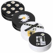 Plastic Contact Lens Case With Mirror Eyes Contact Lenses Box Storage Container
