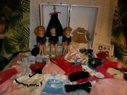 Large 67 Pclot3 Vintage Voguejill Dolls,case,orig.tagged Clothing,shoes,jewelry