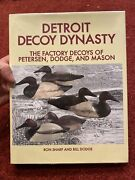 Detroit Decoy Dynasty Factory Duck Decoy Book Signed 387/1000 Sharp And Dodge