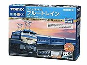 Secondhand Tomix Gauge Basic Set Sd Blue 90179 Introduction To Model Railroad