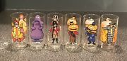 Vintage 1977 Mcdonalds Collector Series Glasses Tumblers Complete Set Of 6