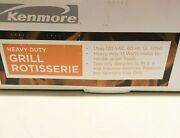 Kenmore Heavy Duty Gas Grill Rotisserie Bbq Electric 13 Watts Motor 15803 New