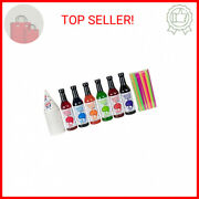 12.7oz Snow Cone Syrups 6 Pack W/cups/straws