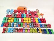 Vintage 1930and039s To 1960and039s Tootsietoy Metal Cars Trucks And Trailers 86 Total Pieces