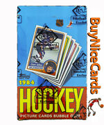 1984 Topps Hockey Sealed Wax Box No X Out Bbce Wrapped - Possible Yzerman Rc