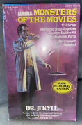 Aurora Monsters Of The Movies Dr. Jekyll Model Kit Factory Sealed 1975