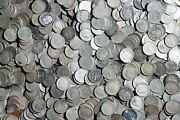 One Roll Of Roosevelt Dimes 50 Coins 90 Silver Worn/damaged Lot B79