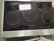 Kenmore Pro 4300 Series 36 Electric Induction Cooktop Stainless Steel W/ Black