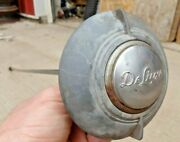 1939 Ford Deluxe Steering Wheel Horn Button W/ Rod Original