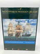 Vintage New Wentworth Wooden Jigsaw Puzzle 250 Pcs Sailing Ships