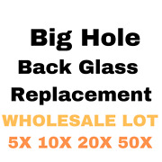 Wholesale Lot Back Glass Replacement Rear Cover Big Hole With Logo Bulk