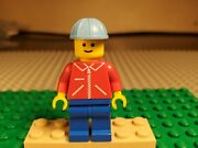 Lego Rare Minifigure Jred013 From Maersk Line Container Lorry Promo 1651 488