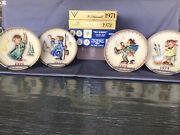 Mi Hummel 25 Bas Relief Annual Plates W/ Boxes West Germany