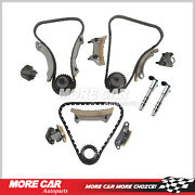 Timing Chain Kit Solenoid Fit For 04-07 Buick Cadillac Cts Srx Saab 9-3 2.8/3.6l