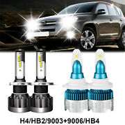 9005 9006 Combo Led Headlight Bulbs Kit Fit For Accord 1997-2007 Highlow Beam
