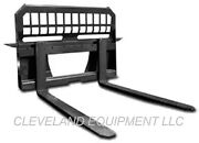 New 48 Pallet Forks And Frame Attachment Skid Steer Loader Tractor 4000 Capacity