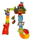 Mickey Mouse Race Track Playset And Clubhouse With Character Cars