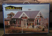 Pola 1806 Idaho Springs Station - Weather Proofed Model Building Kit G-scale