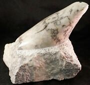 Donna Gough Carved Stone Sculpture Harbor Seal In Marble