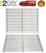 New 2pcs Grates For Weber Genesis Silver A, Spirit 200 Series Stainless Steel